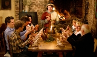 Brotbrechen zum Ritteressen