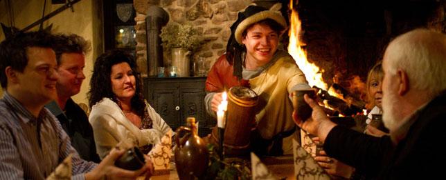 Ritteressen - Mittelalterliches Vergnügen im Klausenhof